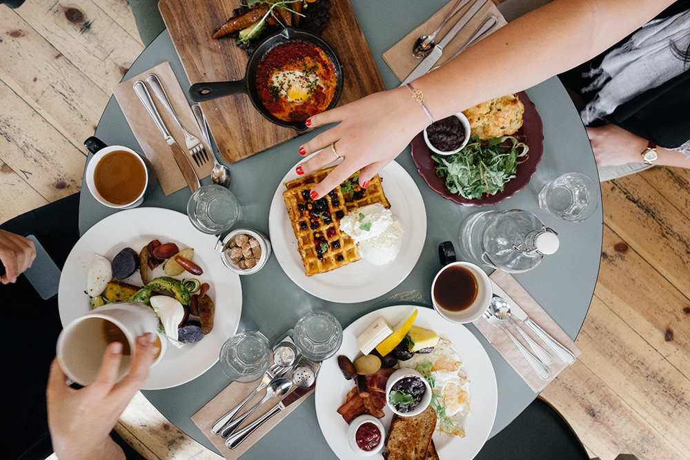 What's your monthly spending on dining out?