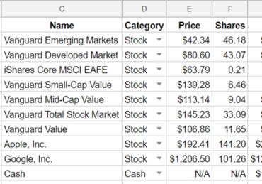 Stocks Spreadsheet Template from www.tillerhq.com