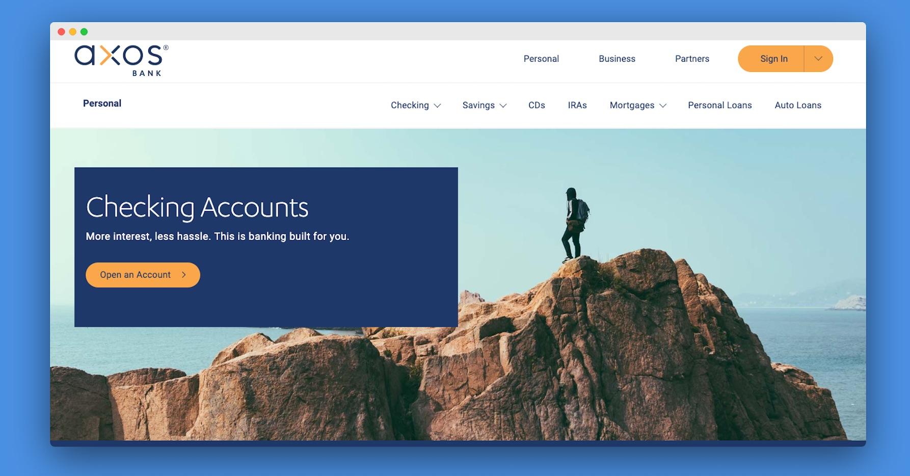 Axos Bank Cashback Checking