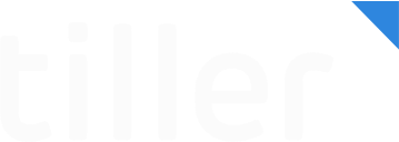 Tiller_Logo_White_Blue_Nacho