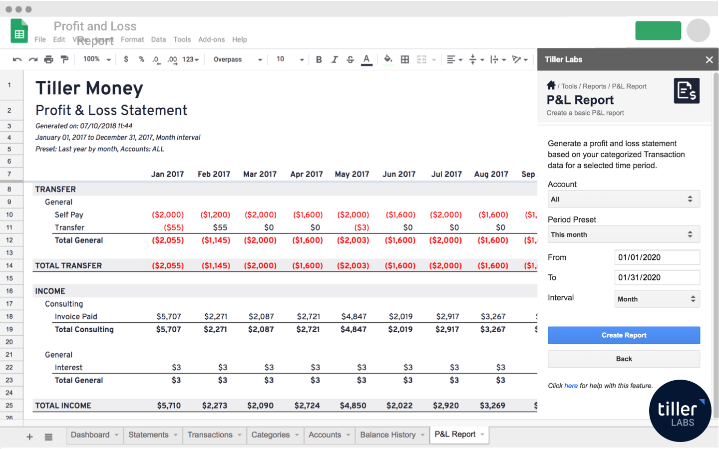 Basic Profit And Loss Template from www.tillerhq.com