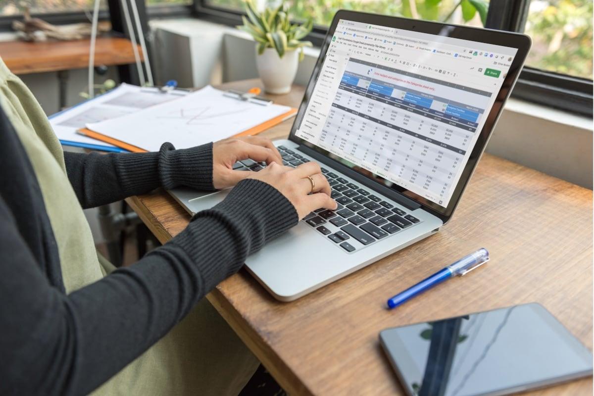 Cash Flow Planning Tiller Money and Google Sheets