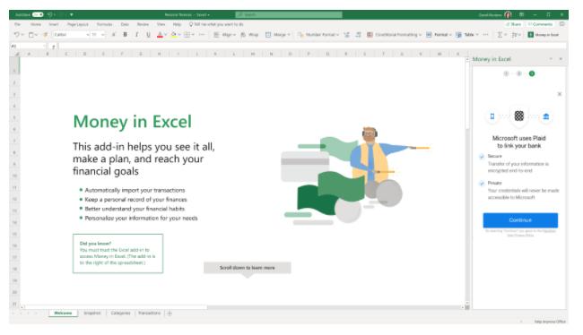 Money in Excel