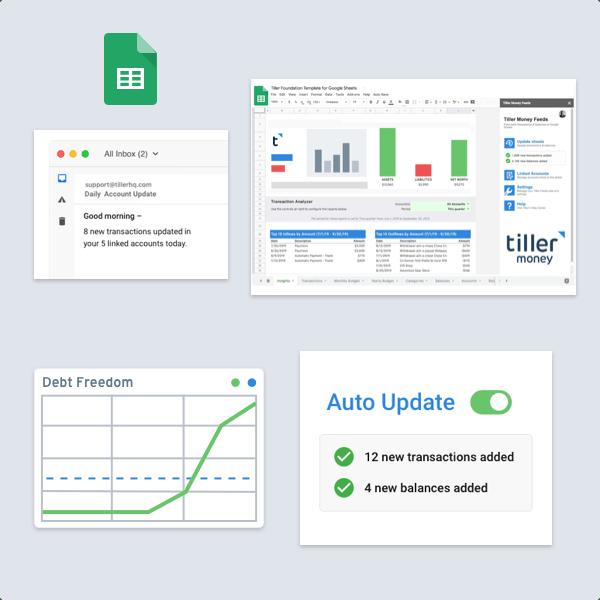 Complete Personal Finance Platform Google Sheets
