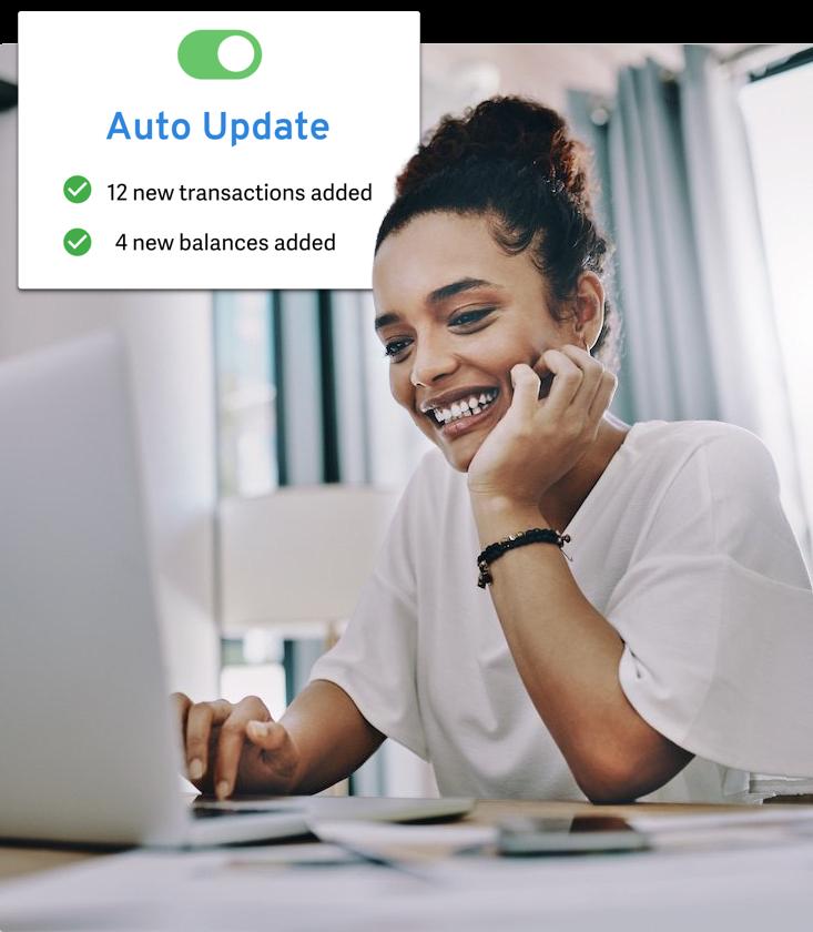 Tiller Money Auto-update Spreadsheets