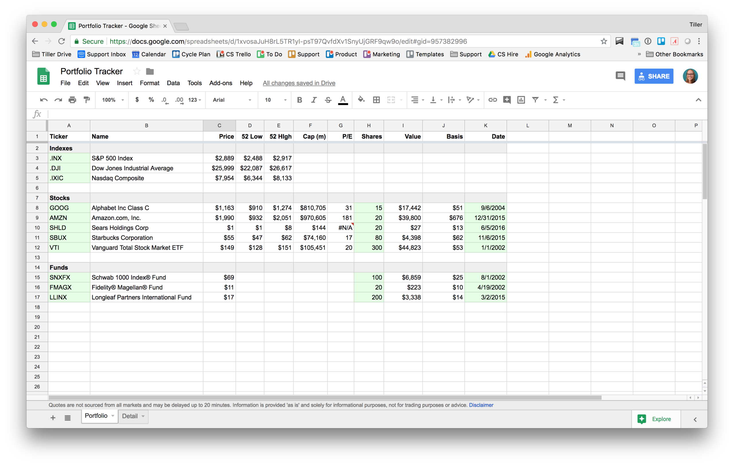 How to Make a Free Investment Tracking Spreadsheet