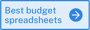 best budget spreadsheets