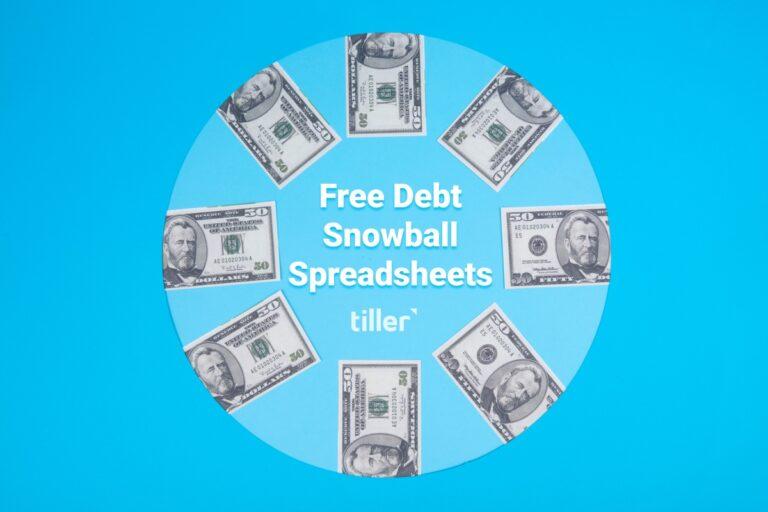 free debt snowball spreadsheets