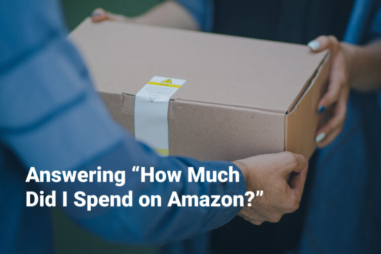 how much did i spend on amazon