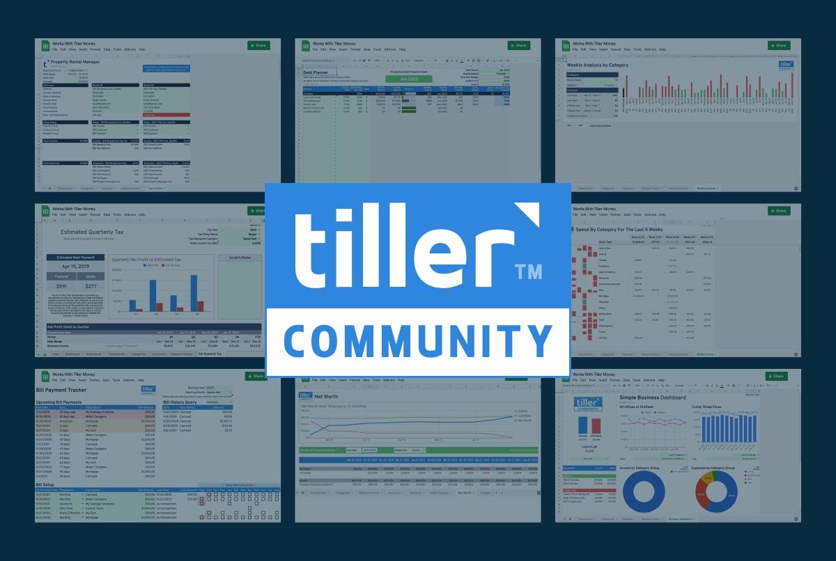tiller community solutions header