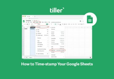 3 Easy Ways to Timestamp Google Sheets