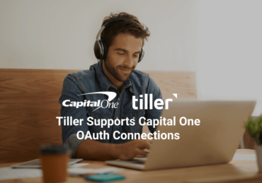 It's Here: Capital One OAuth Support for Frustration-Free Tracking